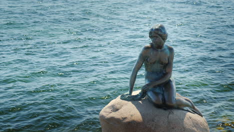 The-Little-Mermaid-Is-A-Statue-Depicting-A-Character-From-The-Tale-The-Little-Mermaid-By-Hans-Christ