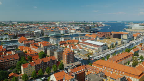 The-City-Of-Copenhagen-An-Old-City-Often-With-Old-Tiled-Roofs-And-Spiers