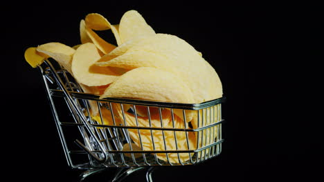 Chips-In-A-Small-Shopping-Trolley