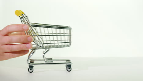 Empty-Shopping-Trolley-On-A-White-Background-Shopping-Concept