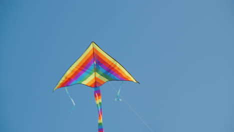 Strong-Winds-Pull-The-Rope-Of-The-Kite