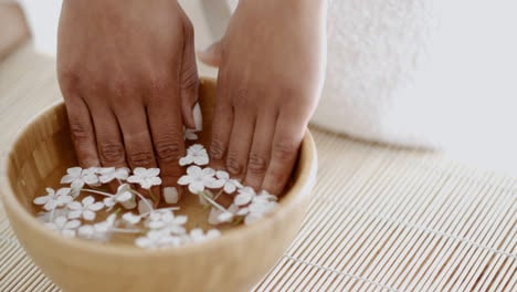 Female-Hands-And-Manicure-In-Spa-Salon