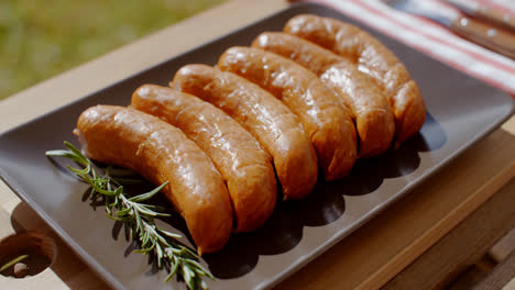 Smoked-sausages-and-rosemary