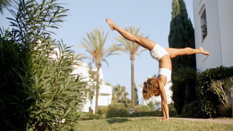 Handstand-On-The-Lawn-