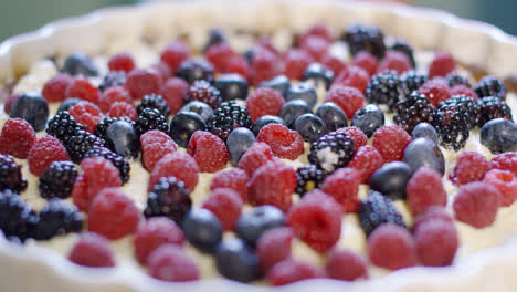 Freshly-baked-homemade-pie-with-assorted-berries