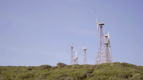 Wind-turbines-on-a-hilltop