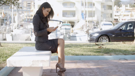 Young-Businesswoman-With-Smartphone