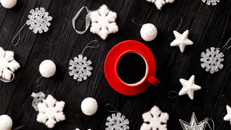 Christmas-decorations-around-hot-beverage