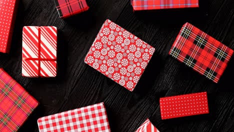 Gifts-wrapped-in-festive-paper