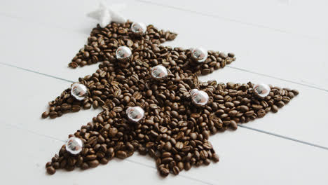 Coffee-beans-laid-in-shape-of-fir