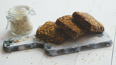 Closeup-of-whole-grain-bread-with-sunflower-seeds