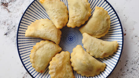 Hot-and-tasty-deep-fried-polish-dumplings-with-meat-filling