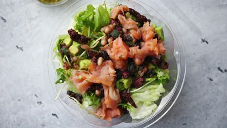 A-delicious-smoked-salmon-take-away-salad