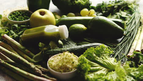 Green-antioxidant-organic-vegetables-fruits-and-herbs
