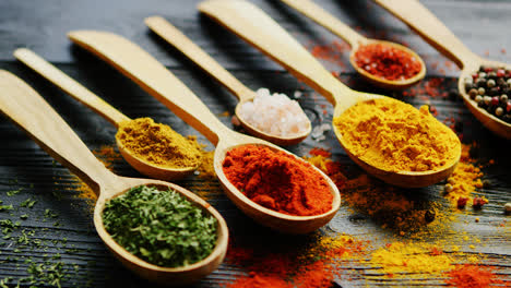 Spoons-with-assorted-spices