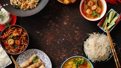 Chinese-food-set-Asian-style-food-concept-composition-