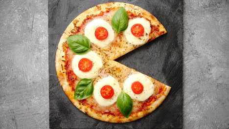 Homemade-pizza-with-tomatoes-mozzarella