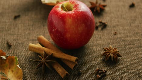 Ripe-apple-with-aromatic-spices