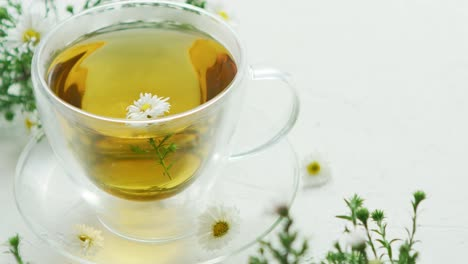 Glass-cup-of-herbal-tea