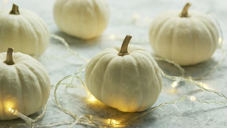 White-pumpkins-with-garland-on-table