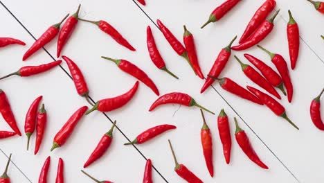Spining-in-Slow-Motion-Red-hot-little-chili-peppers-pattern-isolated-on-white