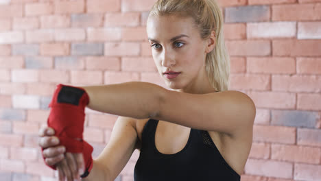 Young-woman-warming-up-hands