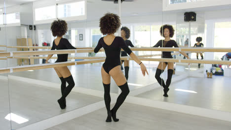 Multiple-reflections-of-a-young-dancer