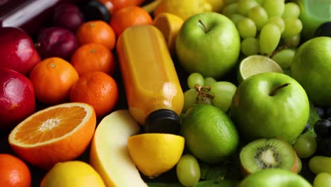 Various-healthy-fruits-and-vegetables-formed-in-rainbow-composition