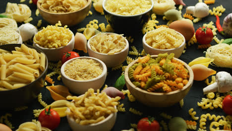 Bowls-with-variety-of-macaroni