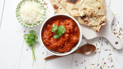 Fresh-and-tasty-Chicken-tikka-masala-served-in-ceramic-bowl