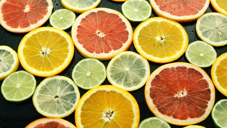 Assortment-of-sliced-citruses-