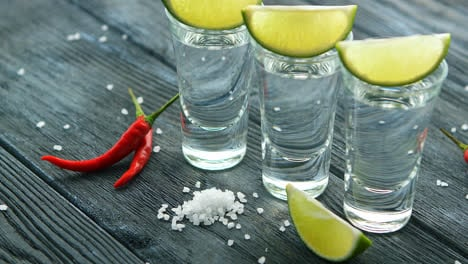 Shot-of-tequila-with-salt-and-lime