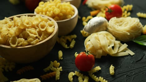 Bowls-full-of-macaroni-and-tomatoes