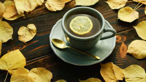 Cup-of-hot-tea-with-lemon