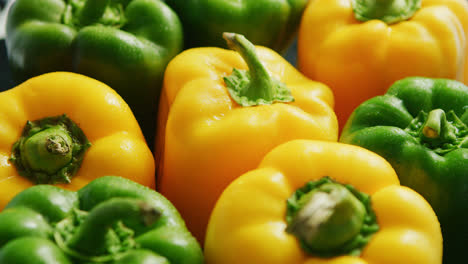 Abundance-of-green-and-yellow-peppers