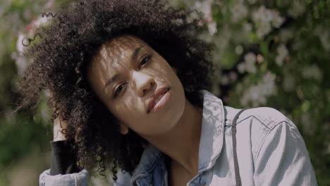 Beautiful-confident-black-woman-looking-at-camera