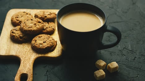 Cup-of-coffee-with-cookies