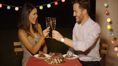 Happy-young-couple-celebrating-Valentines-day