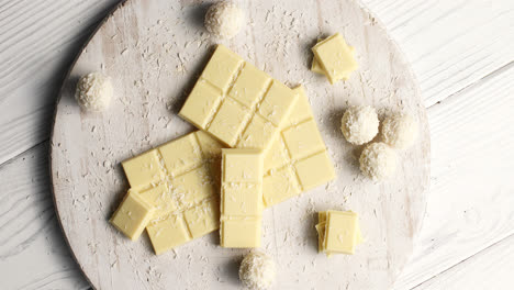 White-chocolate-and-sweet-in-composition
