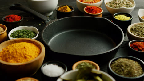 Bowls-with-spices-and-pan