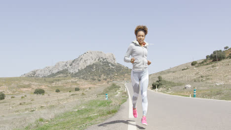 Happy-woman-jogging