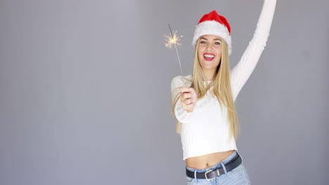 Beautiful-adorable-girl-having-fun-with-sparkler