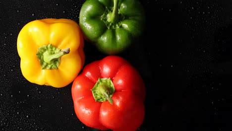 Three-colorful-fresh-peppers