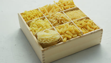 Different-kind-of-macaroni-in-box