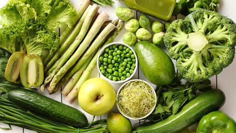 Verde-Antioxidante-Vegetales-Orgánicos-Frutas-Y-Hierbas