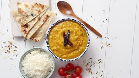 Indian-popular-food-Dal-fry-or-traditional-Dal-Tadka-Curry-served-in-bowl