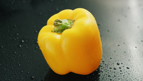 Single-yellow-bell-pepper