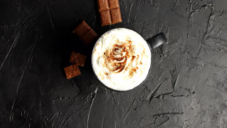 Cup-of-cacao-with-whipped-cream