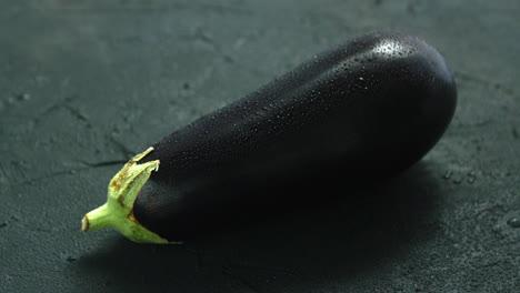 Wet-single-eggplant