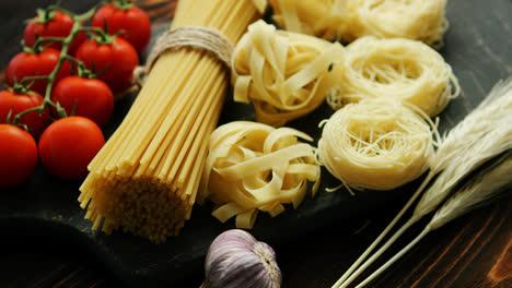 Dry-pasta-assortment-on-board